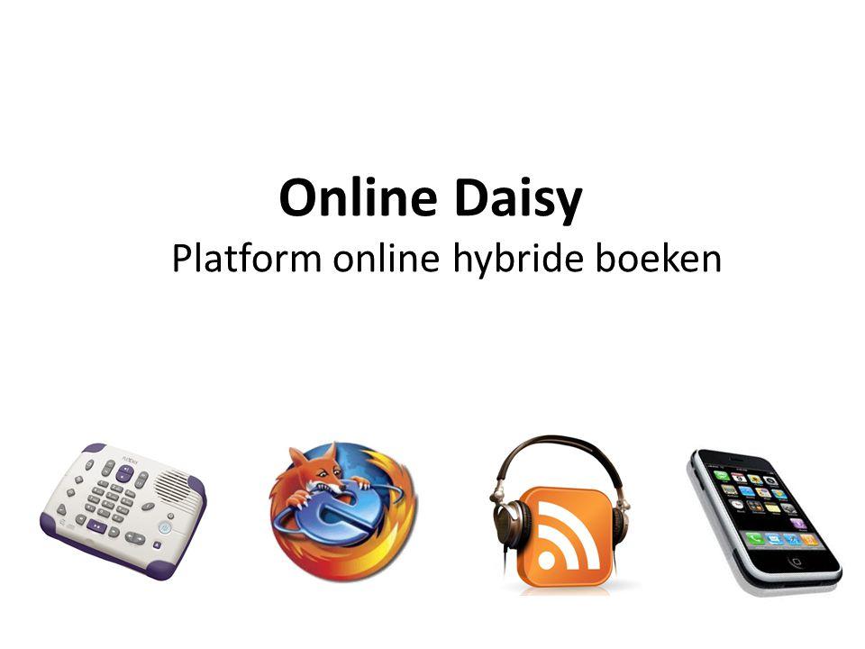 Online Daisy Platform online hybride boeken