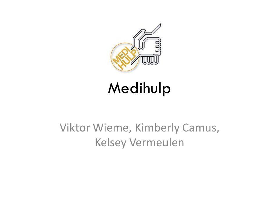 Medihulp Viktor Wieme, Kimberly Camus, Kelsey Vermeulen