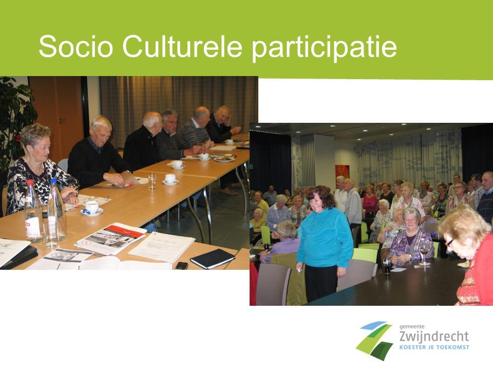 Socio Culturele participatie