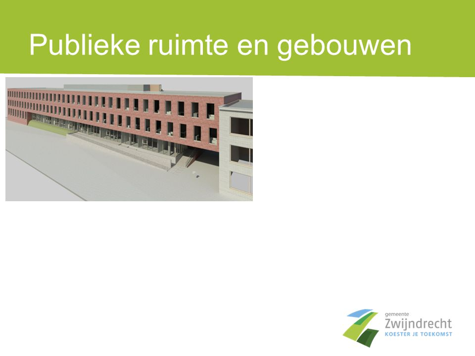 Mobiliteit •Zwijndrecht heeft een goed uitgebouwd openbaar vervoer maar het kan en moet nog beter.