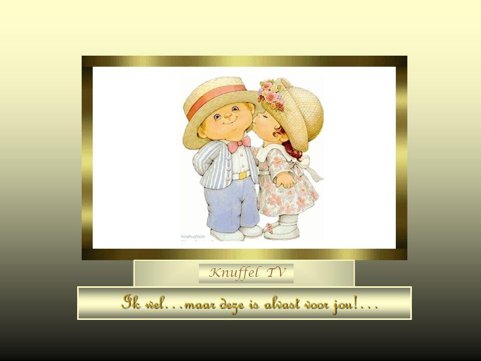 Knuffel TV Weet jij nog iemand die blij zou zijn met een knuffel…?