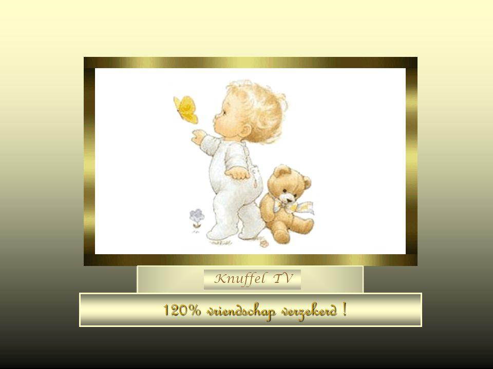 Knuffel TV Aanvaard deze knuffel hij is oprecht !