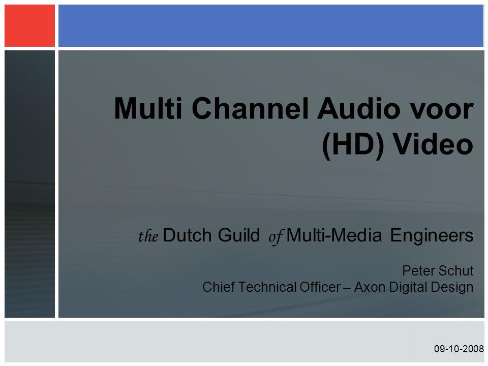 09-10-2008 Dolby audio metadata •Data over audio data die beschrijft en controleert •Is een onderdeel van elke Dolby E en Dolby Digital stroom (ook Dolby Digital plus en binnenkort Dolby Pulse) •Compatibel met > 1 miljard afspeel apparaten DOLBYDIGITALDECODER DOLBYDIGITALENCODER USER SET-UP AUDIO DATADATASTREAM METADATA AUDIO DATA