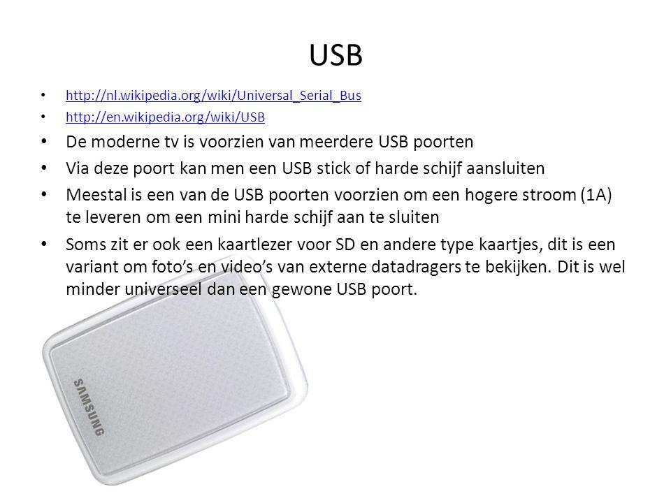 • http://nl.wikipedia.org/wiki/Universal_Serial_Bus http://nl.wikipedia.org/wiki/Universal_Serial_Bus • http://en.wikipedia.org/wiki/USB http://en.wik