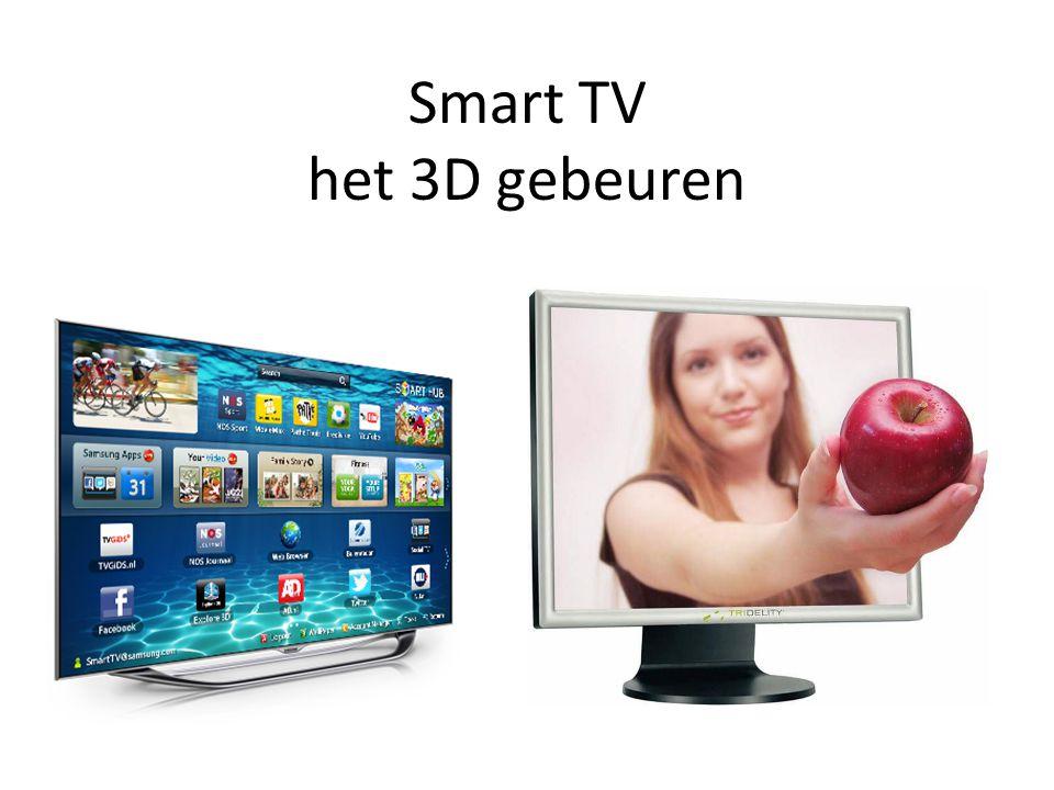Smart TV het 3D gebeuren