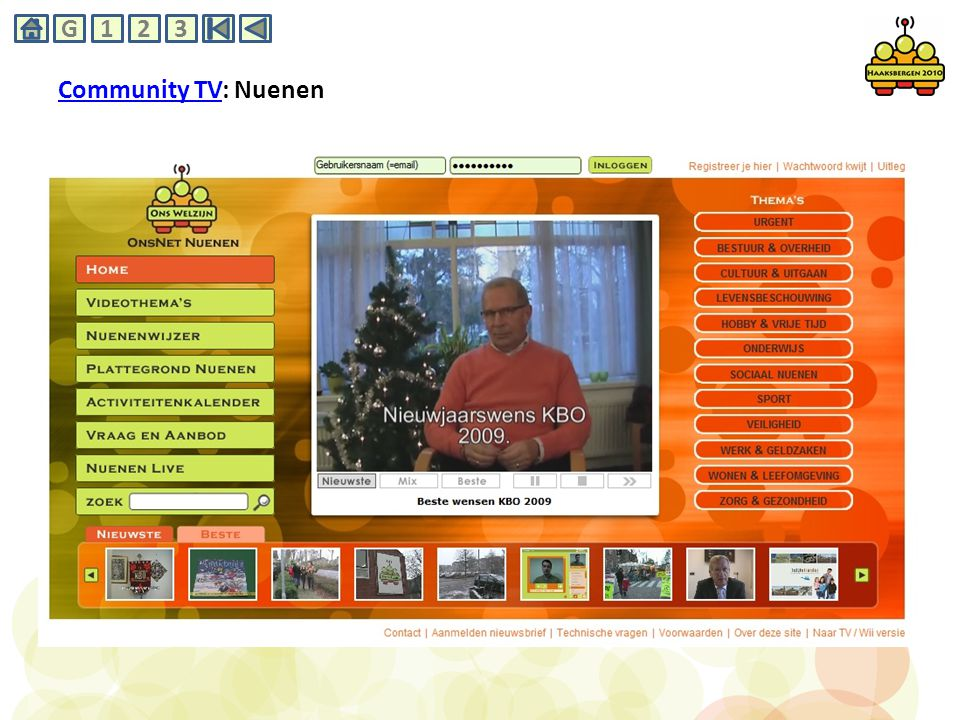Community TVCommunity TV: Nuenen G231