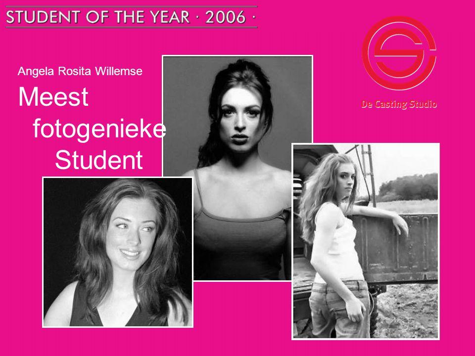 Angela Rosita Willemse Meest fotogenieke Student