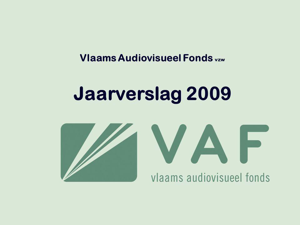 Vlaams Audiovisueel Fonds vzw Jaarverslag 2009