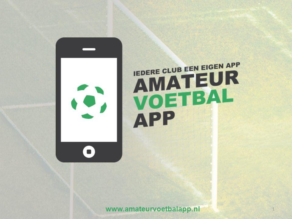 www.amateurvoetbalapp.nl 1