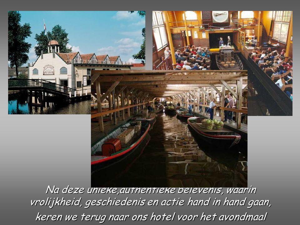 Dag 4 Broeker Veiling Gelegen in het rijk der duizend eilanden en enigste groentenveiling ter wereld op het water.