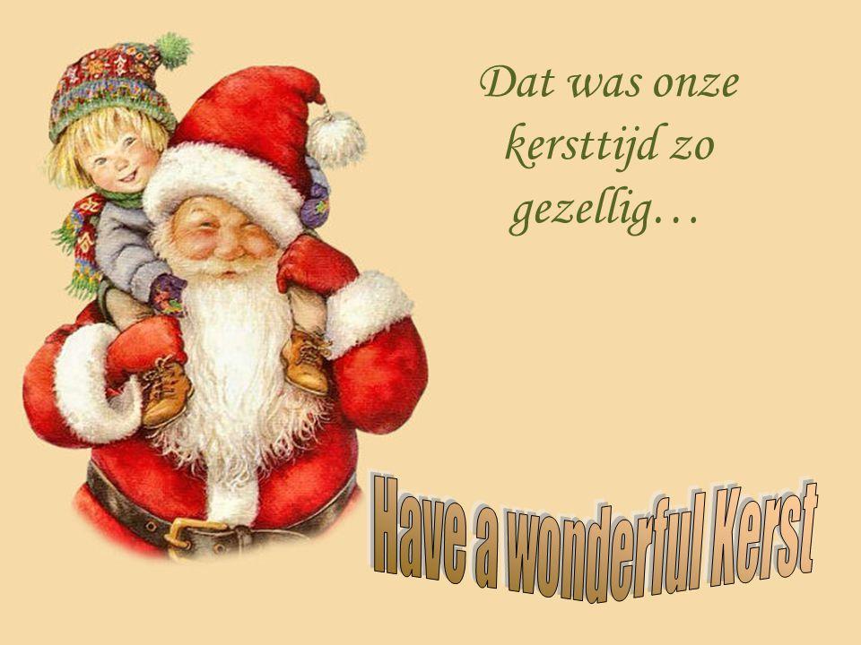 In die tijd was het kind echt het hart van Kerstmis Het was betrokken in alle festiviteiten. Kortom, kerstavond was er voor het kind, maar is Kerstmis