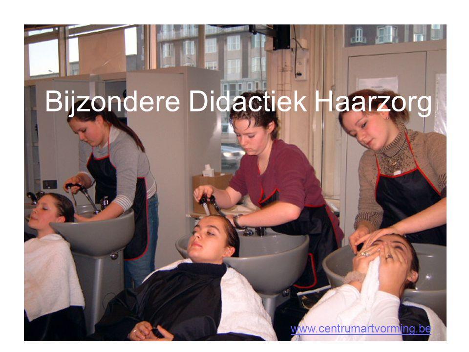 Bijzondere Didactiek Haarzorg www.centrumartvorming.be