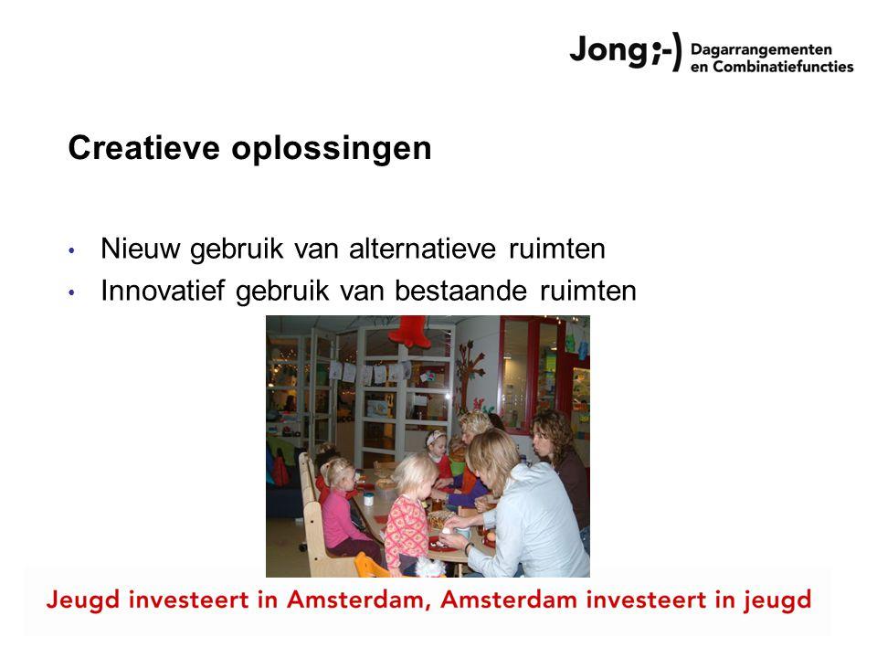 Creatieve oplossingen in Amsterdam 1.Carrousel – PARTOU/SKON 2.