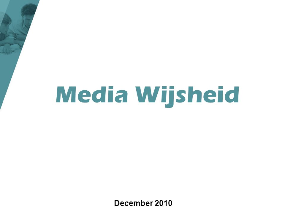 Media Wijsheid December 2010