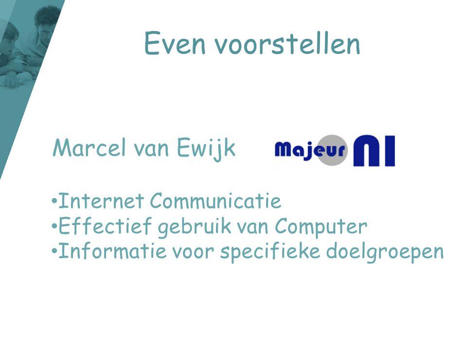 E-mail •E-mail wordt door kinderen minder gebruikt.