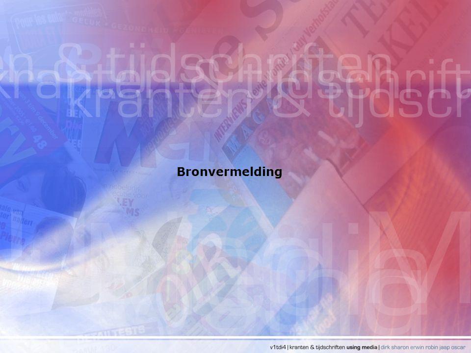 Bronvermelding
