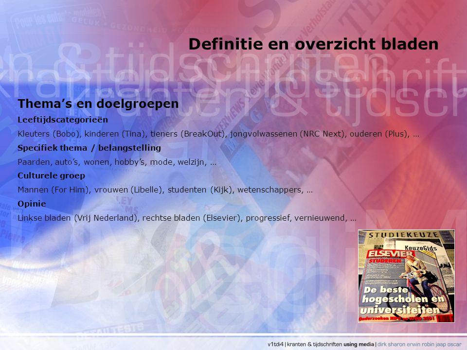 Definitie en overzicht bladen Gratis kranten Er zijn vier gratis kranten in Nederland: de Metro, Sp!ts, Pers en DAG.