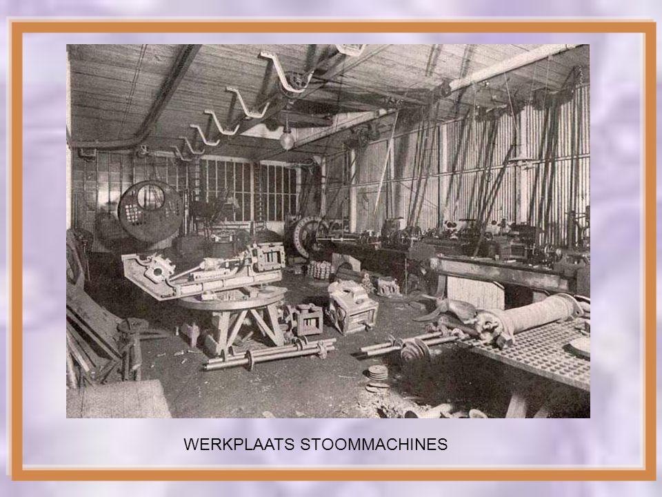 IN 1899 KWAM BROER JAN GOEDKOOP IN HET BEDRIJF. JAN HAD EEN TECHNISCHE OPLEIDING EN BESLOOT STOOMMACHINES TE GAAN BOUWEN VOOR IN DE SCHEPEN DIE ZIJN B
