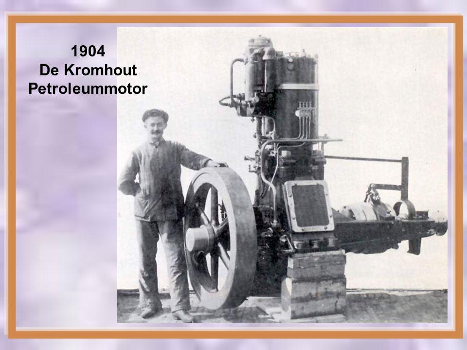 1901 De eerste Kromhout Benzinemotor