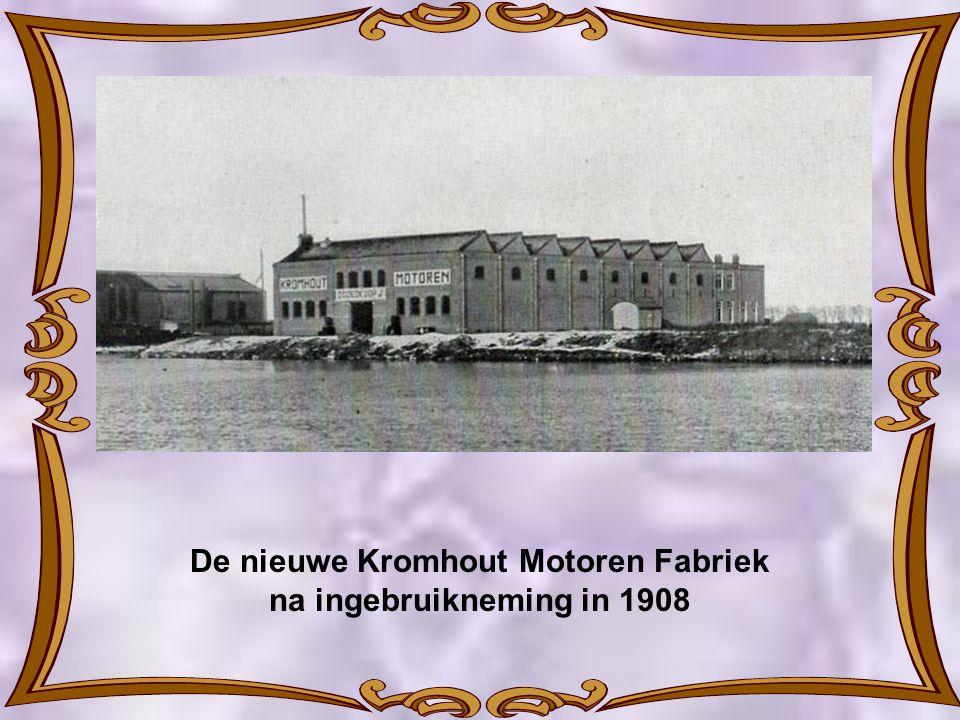 1908. 1e Steenlegging Kromhout Motoren Fabriek