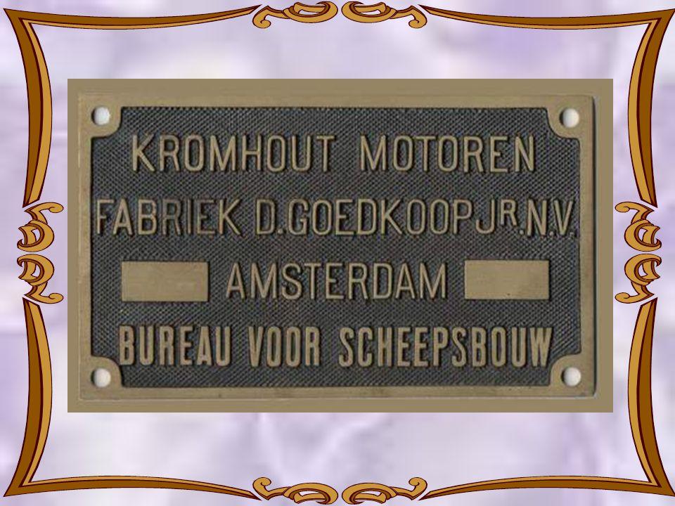 De nieuwe Kromhout Motoren Fabriek na ingebruikneming in 1908