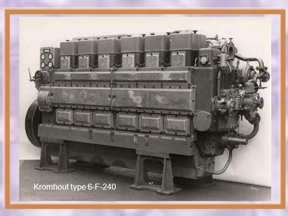 1958 Kromhout Type 8-TV-117 1954 Kromhout Type 6-TS-117