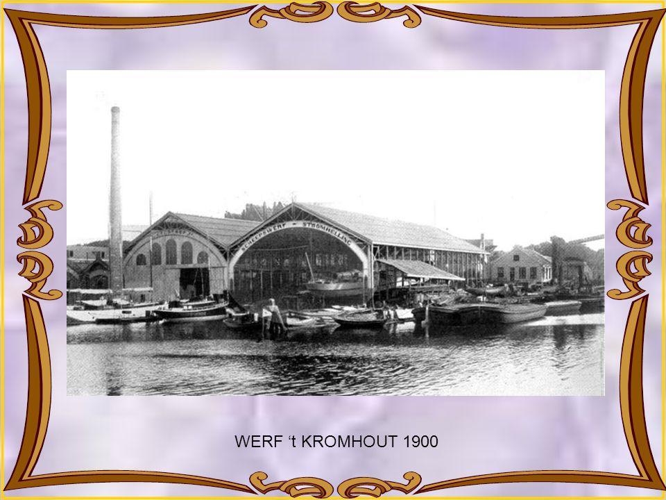 WERF 't KROMHOUT – STOOMHELLING 1888
