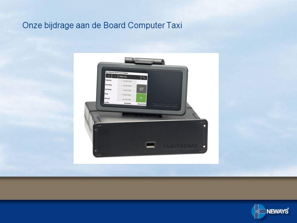 Onze bijdrage aan de Board Computer Taxi