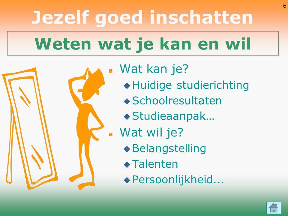 77 Studieadviespunt Gent de Stap Klein Raamhof 8, 9000 Gent - Tel 09 233 75 15 - Fax 09 224 15 65 Mail: info@destapgent.be - Website: www.destapgent.beinfo@destapgent.bewww.destapgent.be Deze presentatie wordt aangeboden door