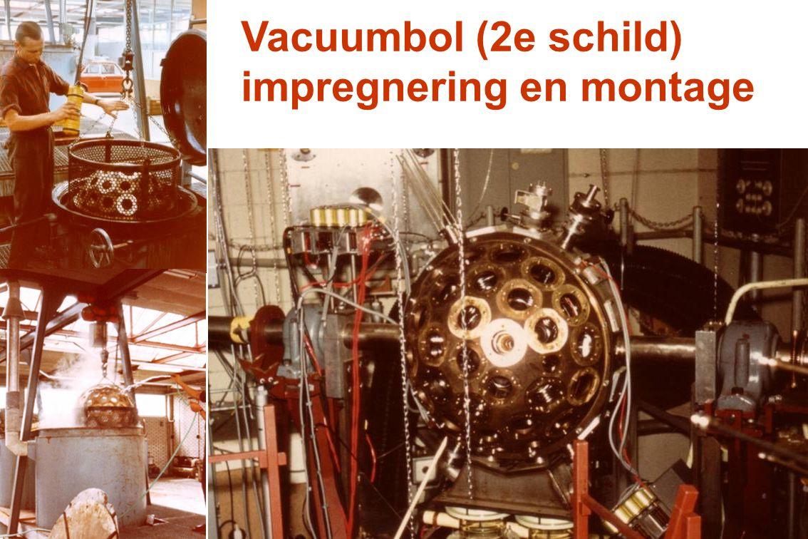 Vacuumbol (2e schild) impregnering en montage