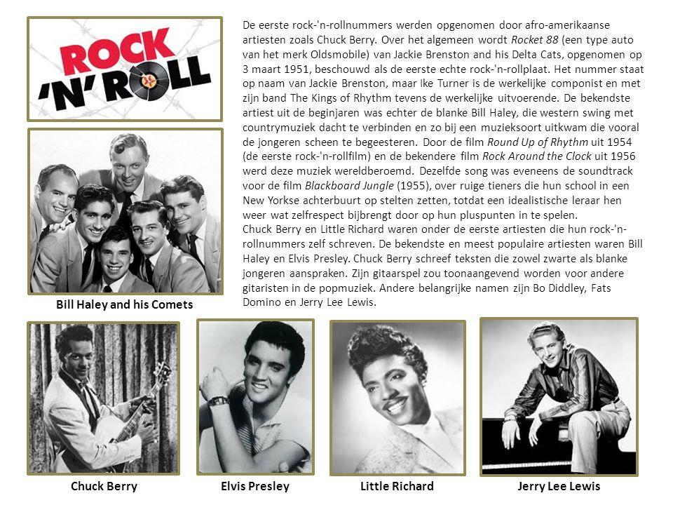MUZIEK De jaren vijftig staan bekend als de jaren van de rock and roll, R&B, rockabilly, doo-wop, skiffle, en de Nashville-sound. Maar ook de Franse,