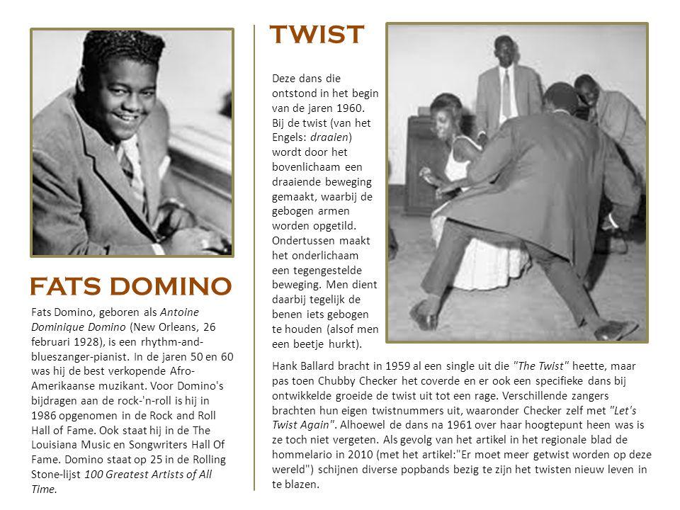 De eerste rock-'n-rollnummers werden opgenomen door afro-amerikaanse artiesten zoals Chuck Berry. Over het algemeen wordt Rocket 88 (een type auto van