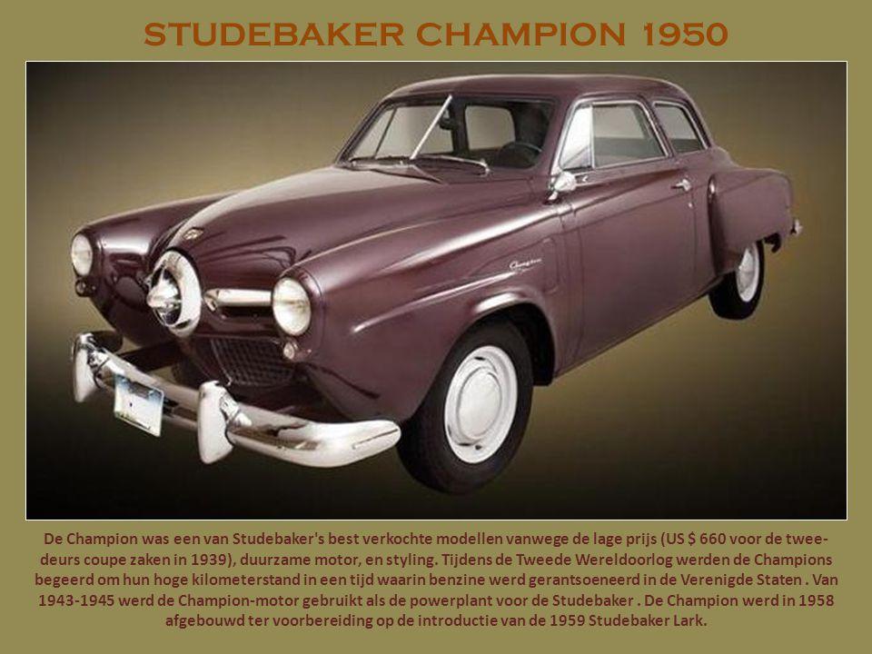 PONTIAC CHIEFTAIN 1950 De Pontiac Chieftain was een auto geproduceerd door de Pontiac Motors Division van General Motors 1949-1958. Chieftains waren e