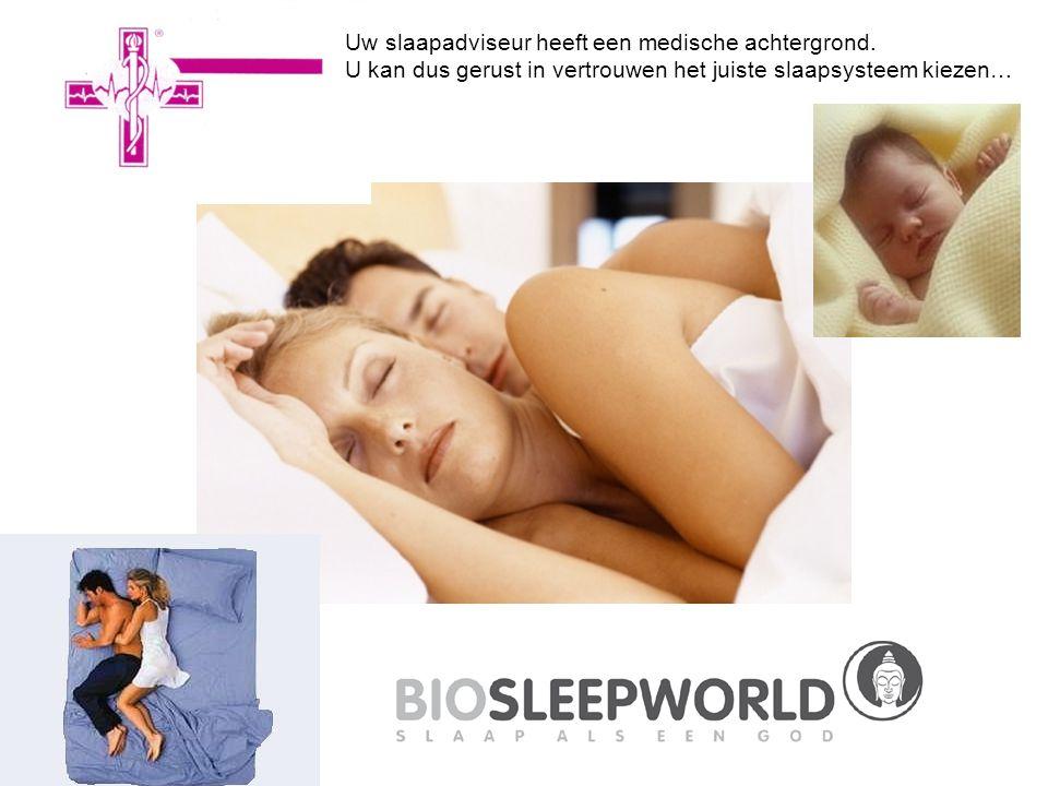 Uw slaapadviseur heeft een medische achtergrond. U kan dus gerust in vertrouwen het juiste slaapsysteem kiezen…