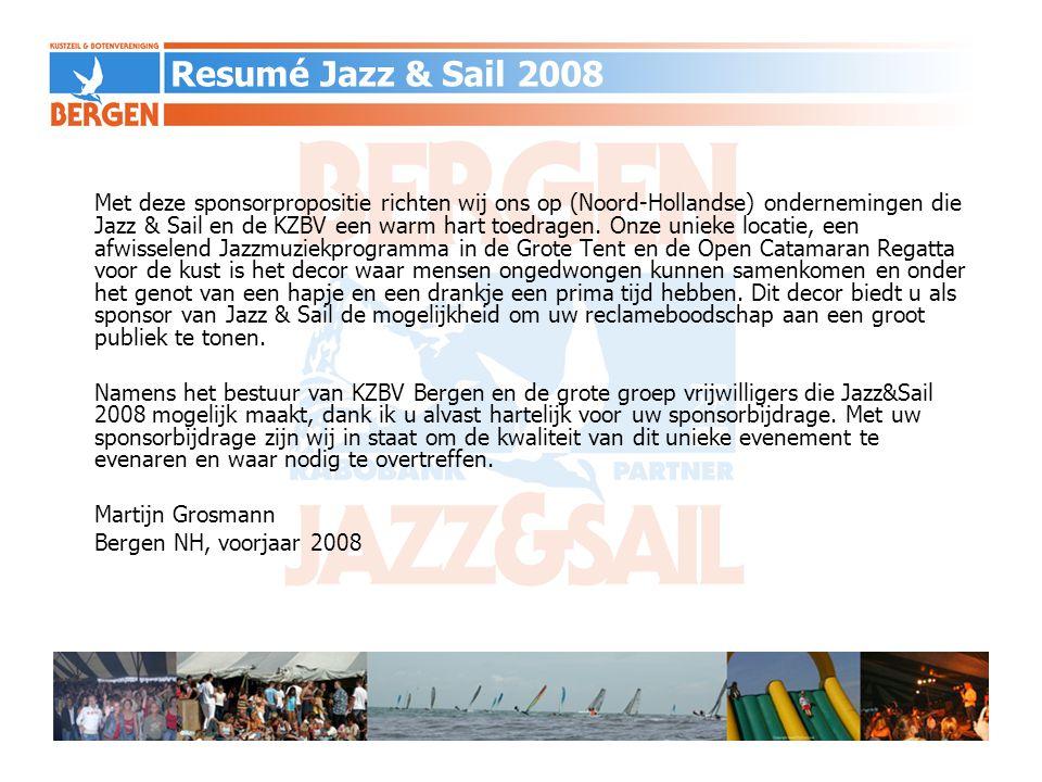 Met deze sponsorpropositie richten wij ons op (Noord-Hollandse) ondernemingen die Jazz & Sail en de KZBV een warm hart toedragen. Onze unieke locatie,