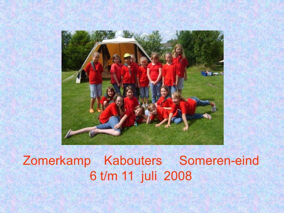 Zomerkamp Kabouters Someren-eind 6 t/m 11 juli 2008