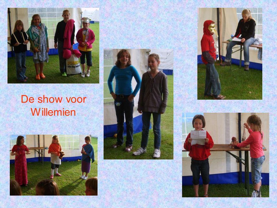 De show voor Willemien