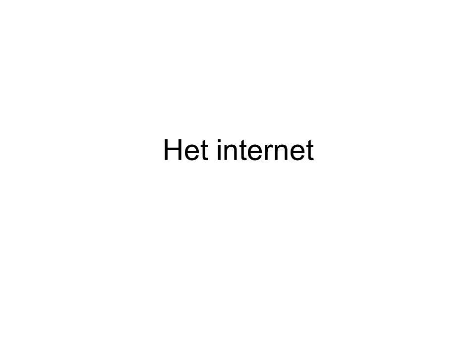 Het internet
