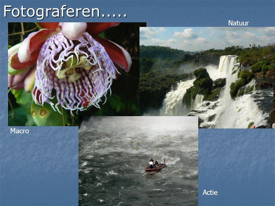 Fotograferen..... Macro Natuur Actie