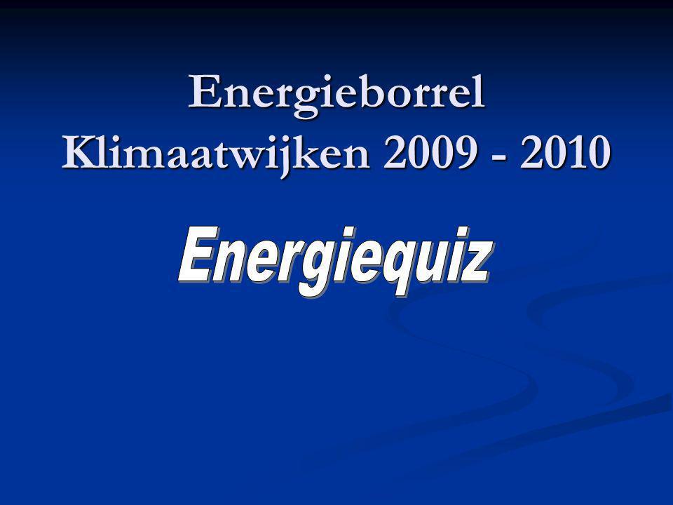 Energieborrel Klimaatwijken 2009 - 2010