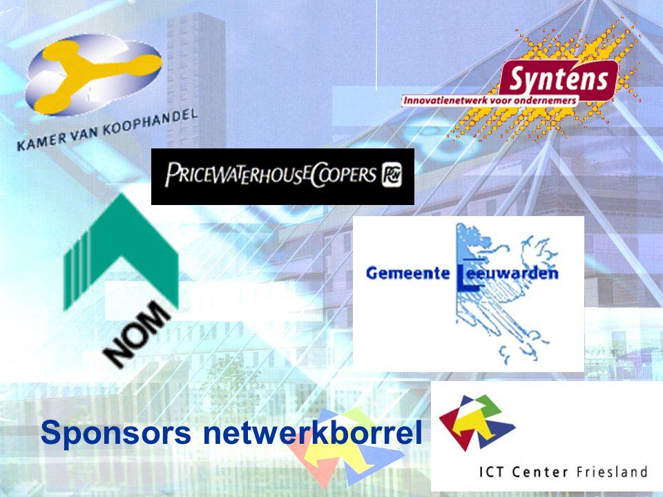Sponsors netwerkborrel