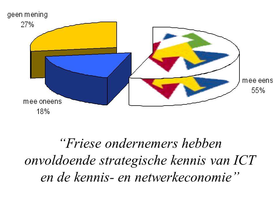 Friese ondernemers hebben onvoldoende strategische kennis van ICT en de kennis- en netwerkeconomie