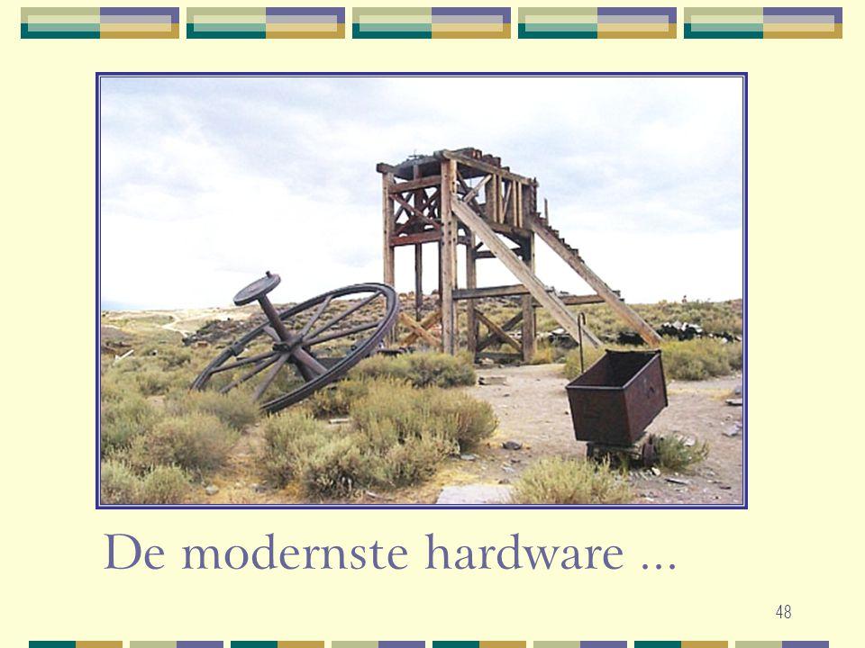 48 De modernste hardware...