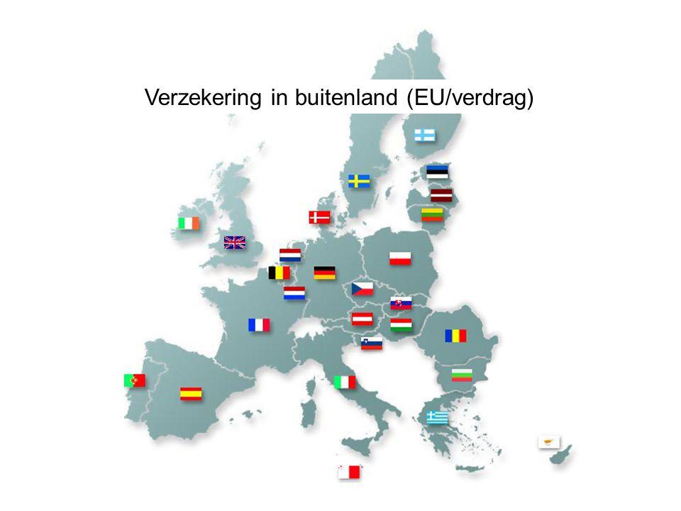 Verzekering in buitenland (EU/verdrag)