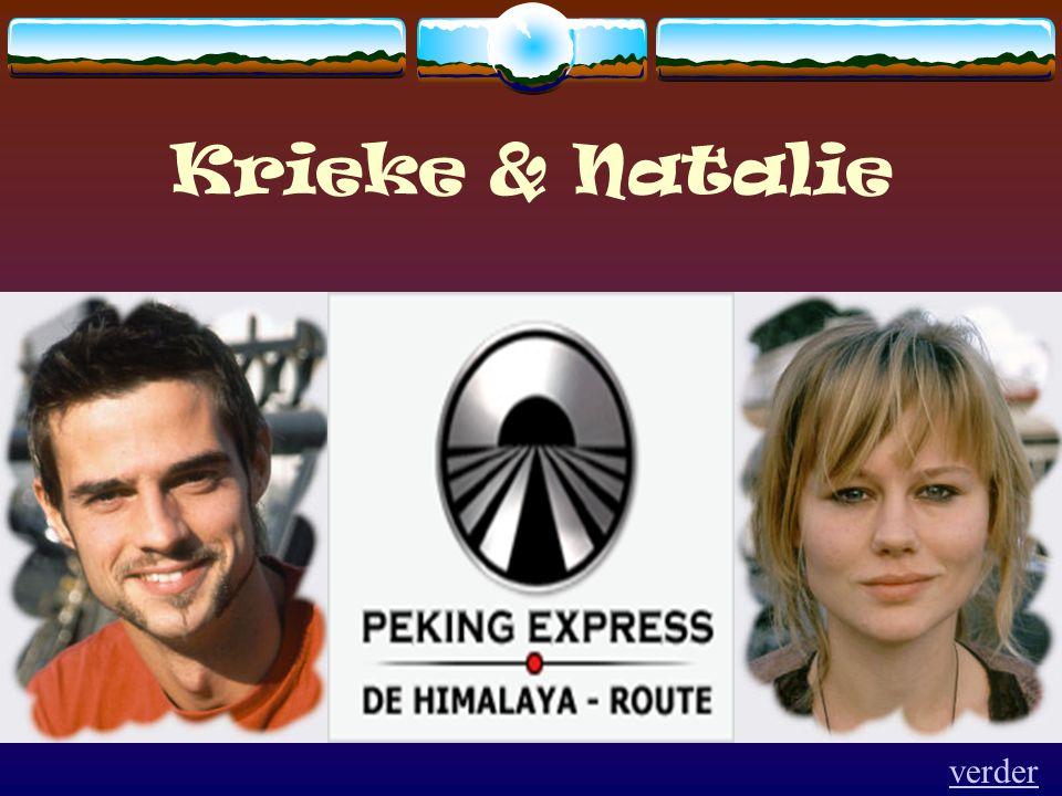 Krieke & Natalie verder