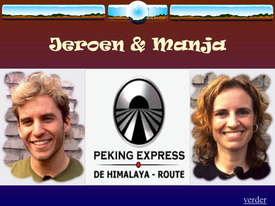Jeroen & Manja verder