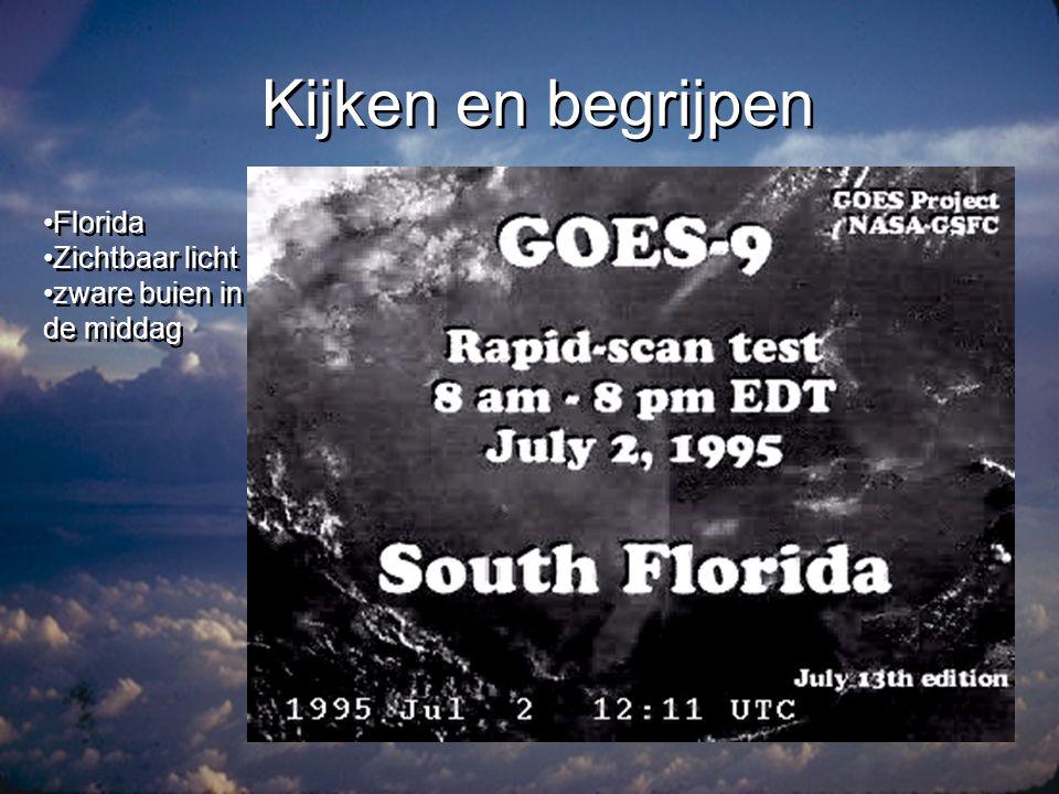 Kijken en begrijpen •Nederland •Zichtbaar licht •Land-zee effect •Nederland •Zichtbaar licht •Land-zee effect
