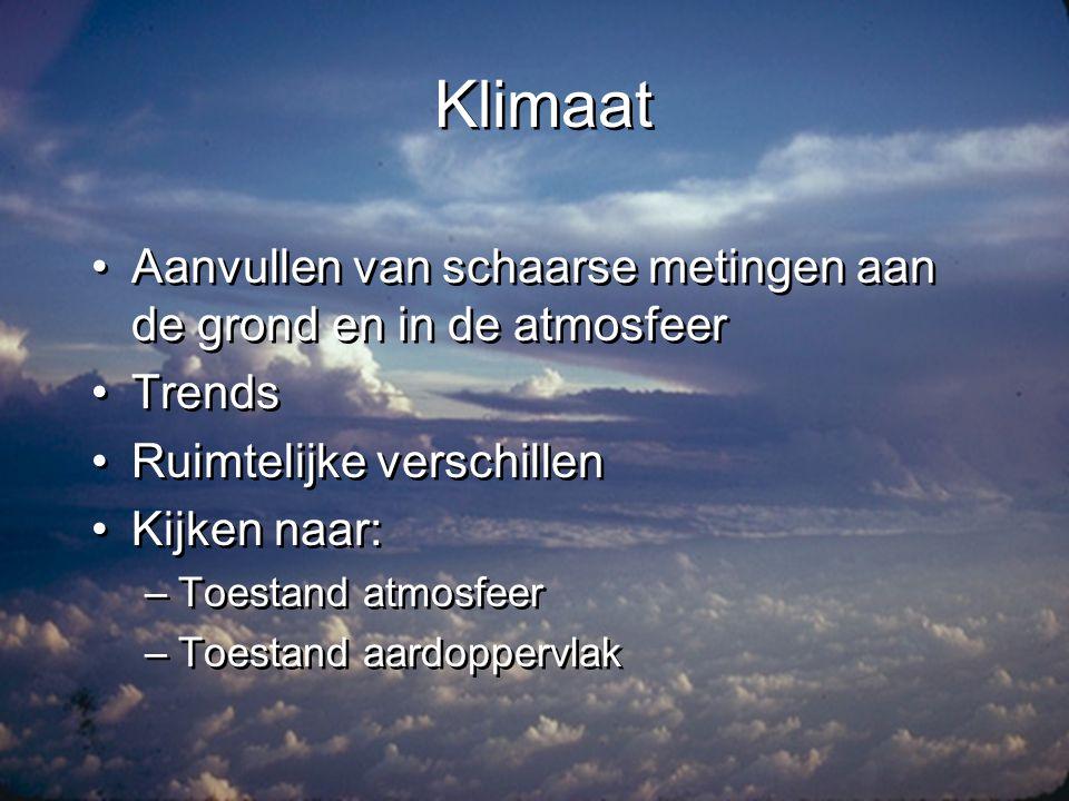 Klimaat: wolkentype •% buienwolken •Jaarlijkse gang •Noord-zuid beweging van ITCZ •% buienwolken •Jaarlijkse gang •Noord-zuid beweging van ITCZ
