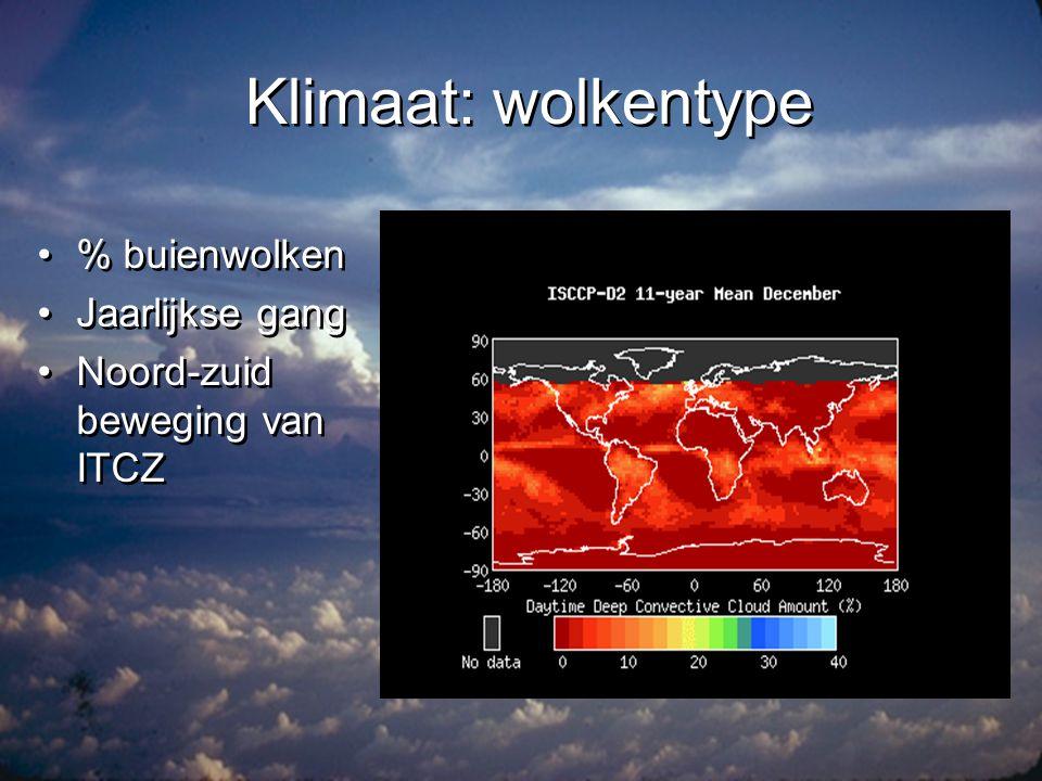 Klimaat: straling •Netto straling aan oppervlak •Gemiddeld > 0 •Grote verschillen in seizoen •Netto straling aan oppervlak •Gemiddeld > 0 •Grote verschillen in seizoen