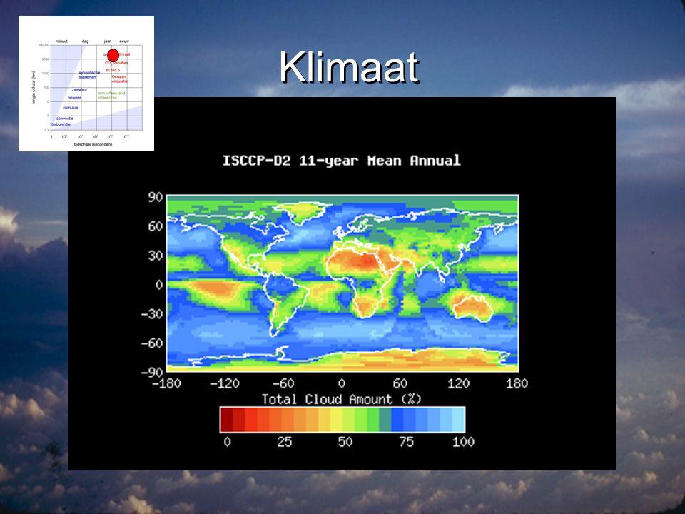 Hoe kijk je naar de atmosfeer.•Welke satellieten.